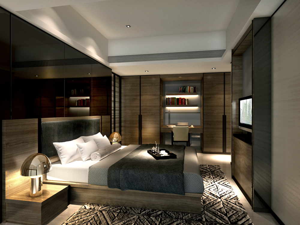 service-apartment-interior-design-mocha-_unit01_-4-bedroom